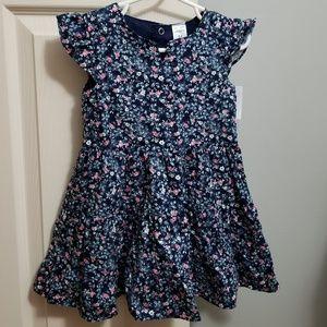 Carter's Navy Floral Dress 24mo